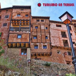 Balcones colgantes en Albarracín