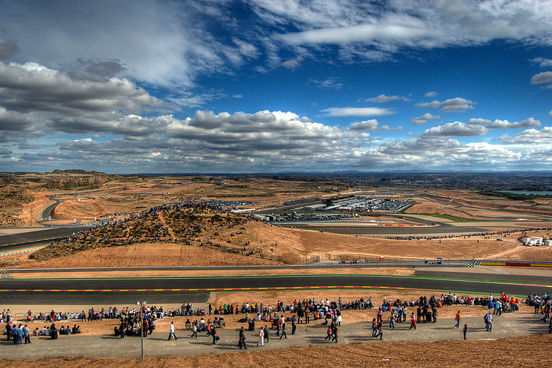Panorámica de Motorland en Alcañiz