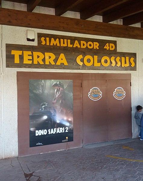 simulador dinosaurios en dinopolis teruel