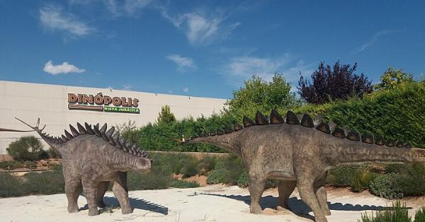 edificio dinopolis en Teruel