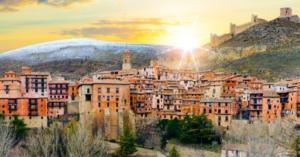 panorámica Albarracín