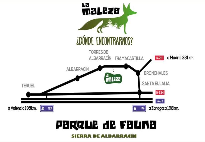 Parque faunistico La Maleza Sierra de Albarracín