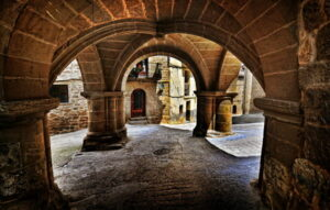 portalada Maella Capilla El Pilar en Calaceite