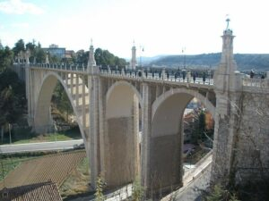 viaducto de teruel ciudad