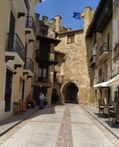 Calle en Rubielos de Mora