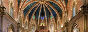 interior iglesia san pedro teruel ciudad