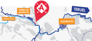 Mapa Albarracín Aventura