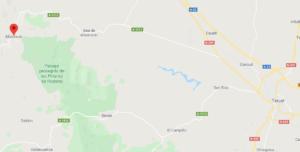 mapa de carreteras de teruel a albarracín