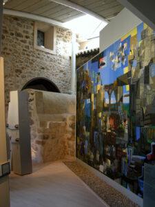 mural museo amantes de teruel