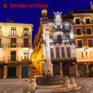 plaza torico de noche