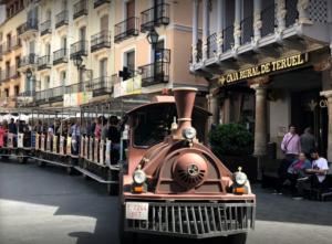 tren turistico de teruel ciudad