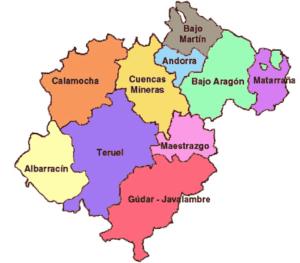 comarcas de teruel