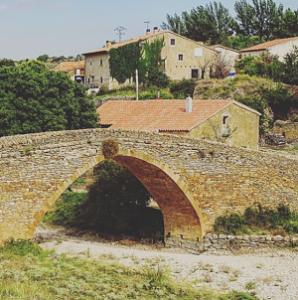 puente medieval la iglesuela
