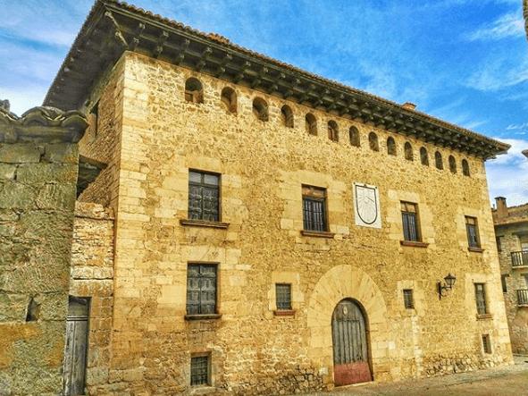 casa aliaga de mirambel