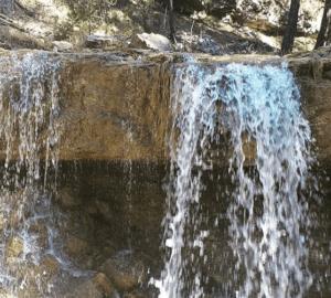 cascada ruta caños de gudar