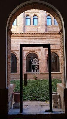 claustro monasterio santa maria de el olivar