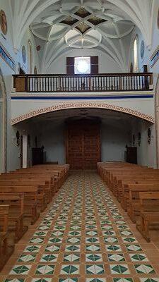 iglesia monasterio santa maria de el olivar