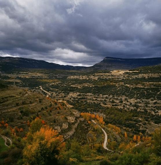 paisaje maestrazgo