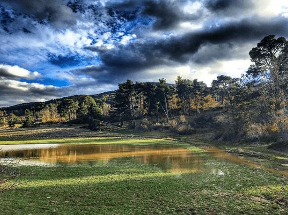 paisaje de Orihuela del Tremedal