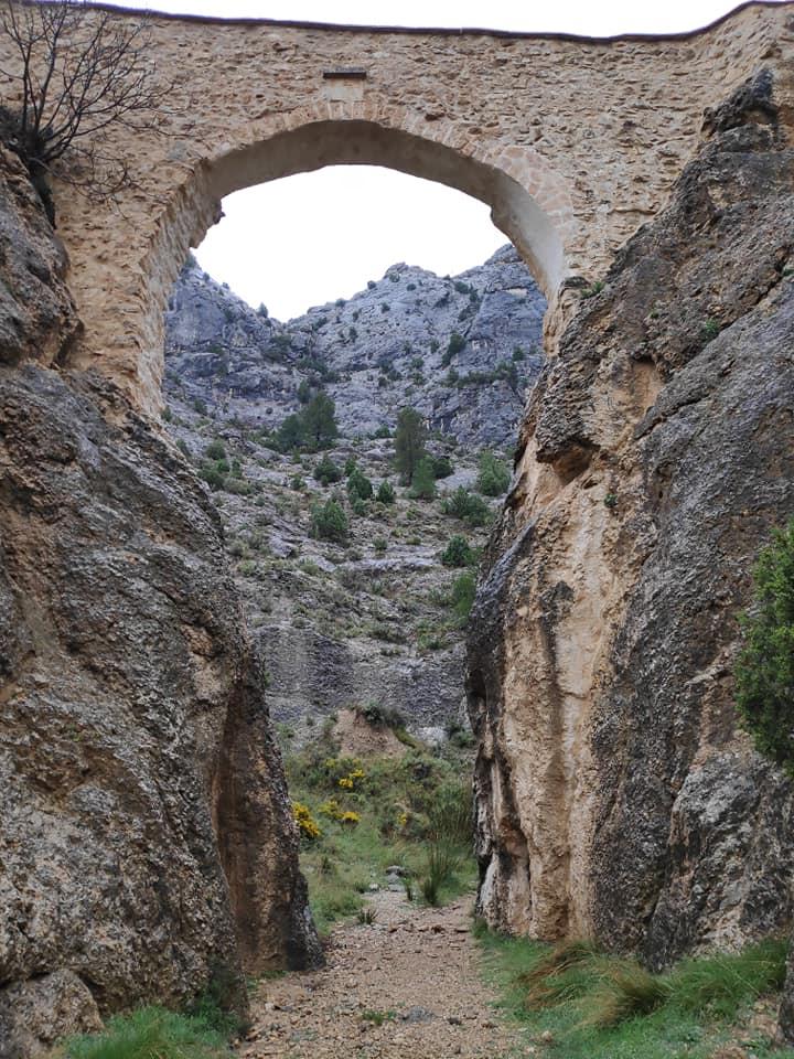 puente de los gigantes castellote