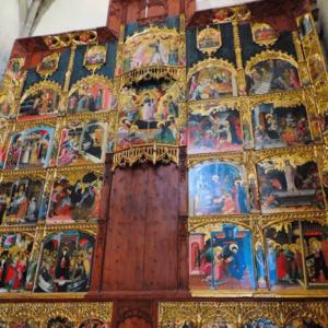 retablo de la vida iglesia de rubielos de mora
