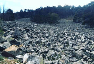 rio de piedras en orihuela del tremedal