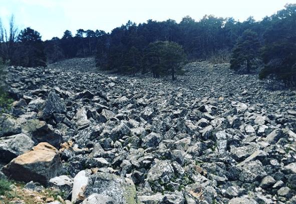 ríos de piedra en Orihuela del Tremedal