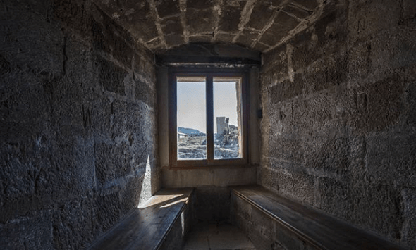 ventana castillo mora de rubielos