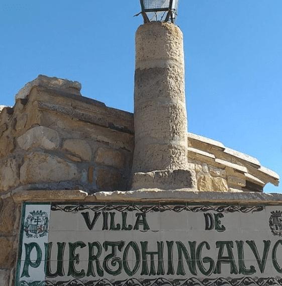 cartel villa de puertomingalvo