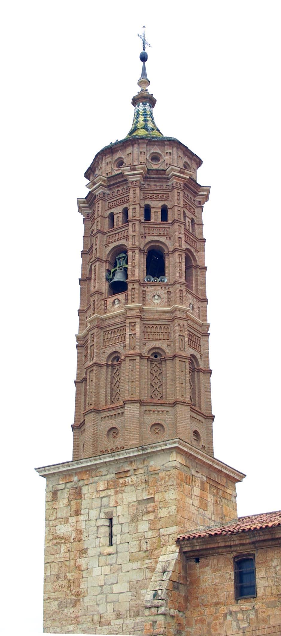 Torre mudéjar campanario Bárguena
