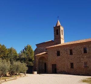 acceso monasterio santa maria de el olivar