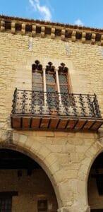 balcón ayuntamiento cantavieja