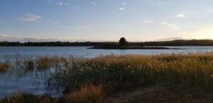 atardecer en la estanca de Alcañiz