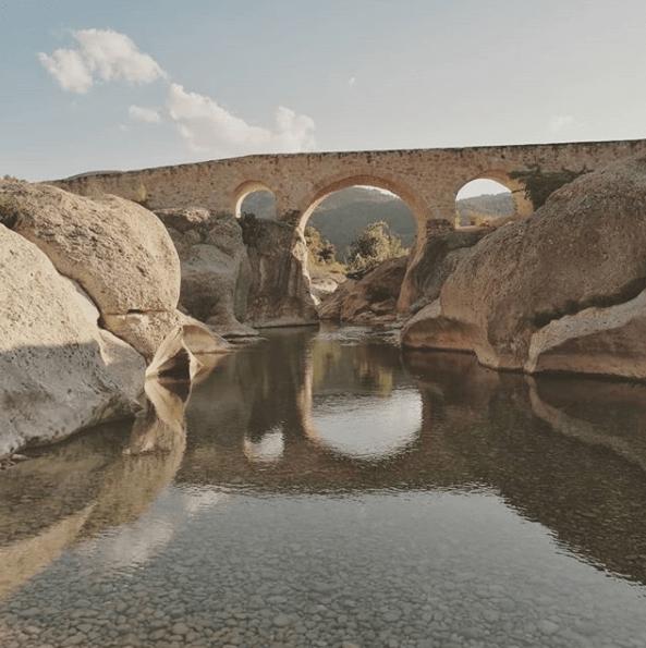 puente cananillas aguaviva río bergantes