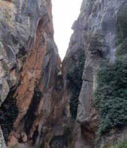 punto final excursión pozo del salto en Molinos