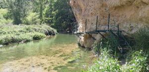 río martín en peñas royas