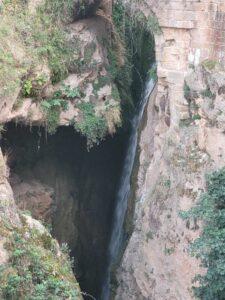 salto agua barranco san nicolás en Molinos