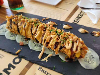 sushi de longaniza