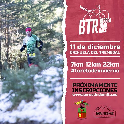 cartel Berrea Trail Race Orihuela del Tremedal