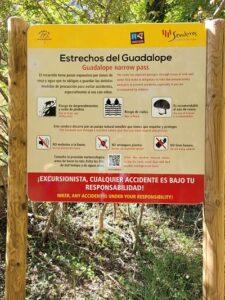 señal estrechos del guadalope